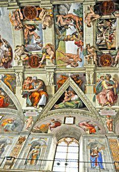 Michelangelo - Sistine Chapel Ceiling