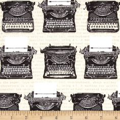 Objects Typewriters Vintage Tan