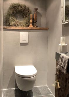 French Bathroom, French Kitchen Decor, Bathroom Vanity Tops, Bathroom Toilets, Small Bathroom, Master Bathroom, Lave Main Design, Wc Design, Bathroom Tile Designs