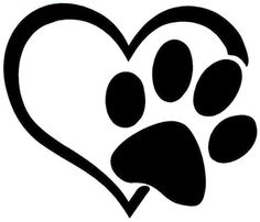 Heart with Paw Print                                                                                                                                                                                 More