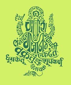 """The Many Names of Ganesha"" via Hindi Rinny"