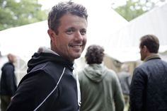 Crown Prince Frederik of Denmark attends a music festival July 3, 2014