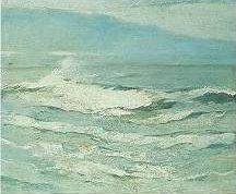Emil Carlsen Waves, c.1923