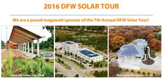Looking for something to do today?  The DFW Solar Tour is a free, one-day event on Saturday, October 1, 2016, generally from 10 a.m. to 4 p.m. during which you are invited to tour innovative green homes and buildings around the DFW Metroplex and learn how homeowners and businesses can use solar energy, wind energy, energy efficiency, and other sustainable technologies