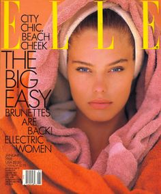ELLE, 1988. Model: Renee Simonsen