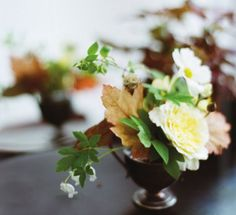 foliage & garden bouquet Kinfolk magazine