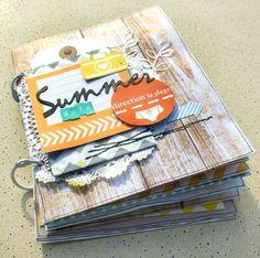 Scrap Plaisir shannon91: ** Mini album free style : Summer 2012 **