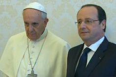 El incómodo viaje de Hollande hacia el Papa