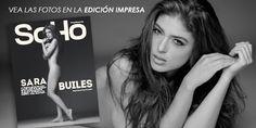 """Sara Builes, la modelo que estaba con alias """"El Indio"""" en el momento de su captura rompe su silencio y se desnuda, en cuerpo y alma, para SoHo."""