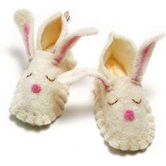 Felt Slippers | Easter Gifts For Kids, Children, Teens