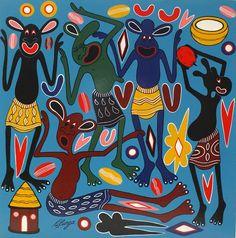 George Lilanga (1934-2005), Tanzanian