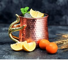 Starfish Copper Moscow Mule Cup Set of 2 Tea Strainer, Tea Infuser, Moscow Mule Cups, Insulated Tumblers, Bar Drinks, Cupping Set, Food Grade, Starfish, Cool Kitchens