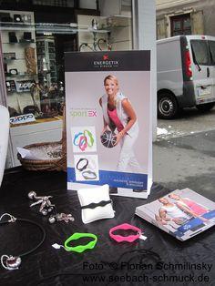 Das ENERGETIX sportEX Armband. Brazalete magnetico para deportistas
