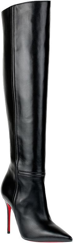Pin for Later: The Best Over-the-Knee Boots For All Budgets  Christian Louboutin Armurabotto over-the-knee heeled boots (£1,175)