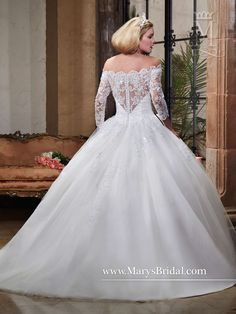 Bridal Gowns - Fairy Tale Princess - Style: 6362 by Mary's Bridal Gowns