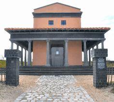Colijnsplaat, reconstructed temple of Nehalennia