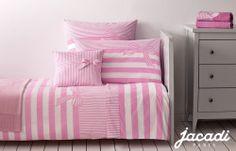 Camille & Juliette Collection Jacadi pour petite fille bien dans ses ballerines #fille #girl #pink #stripes #jacadi #paris #pretty #bedroom