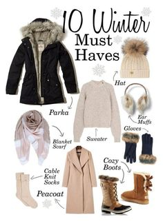 Rose Blush und rote Lippen: 10 Winter Must Haves - Winter Outfits - Women's Fashion Snow Outfits For Women, Winter Outfits For Teen Girls, Winter Mode Outfits, Cold Weather Outfits, Winter Fashion Outfits, Look Fashion, Autumn Winter Fashion, Clothes For Women, Winter Wear