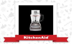 The Cocoa Silver Architect™ 14-Cup Food Processor is the appliance of my holiday dreams. Declare and Share your favourite KitchenAid small appliance for a chance to win it!