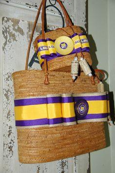 Game Day bags - Elizabeth Jamieson Designs