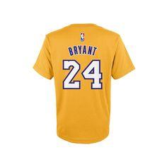 Boys 8-20 Adidas Los Angeles Lakers Kobe Bryant Tee, Boy's, Size: Xl(18/20), Ovrfl Oth