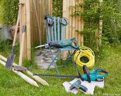 Créer une douche de jardin sur gravier