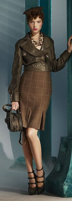 Christian Dior Pre-Fall 2010 - Model: Heloise Guerin