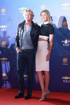 With Cody Simpson at the 14th Huading Award Global Music Satisfaction Survey Release Ceremony in Shanghai. See all of Gigi Hadid's best looks.