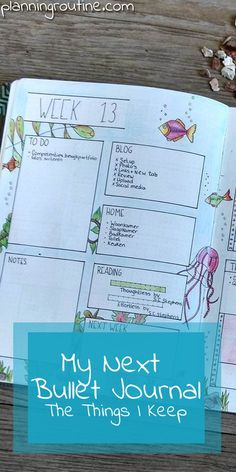 You won't believe it: my first Bullet Journal is almost full! After eight months of Bullet Journaling I have found a system that is working for me. It organizes my life in a way I never knew was possible, but a new book means a new change to organize everything even better! In this multi-part blogpost I'm showing you what I'm keeping in my new notebook and what I'm going to change, starting with the thing I keep.