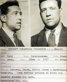 vintage american gangsters - Google Search