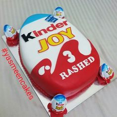 Kinder joy cake