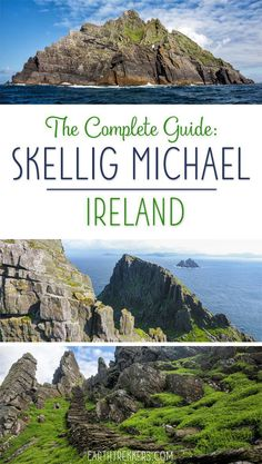 The Complete Guide to visiting Skellig Michael island, Ireland. Skellig Michael is a remote island located off the coast of Ireland. It is home to puffins and an ancient monastery. Learn how to plan your visit in this article. Scotland Travel, Ireland Travel, Amazing Destinations, Travel Destinations, Ireland Destinations, Oregon, Ireland Vacation, Koh Tao, Roadtrip