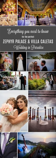 Wedding Photography at Zephyr Palace and Villa Caletas by FunkyTown - Costa Rica