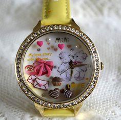 MINI hodinky - Čokoládový polibek