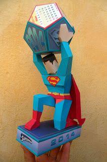SUPERMAN CALENDAR 2014