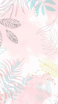 Watercolor Wallpaper Iphone, Flower Phone Wallpaper, Wallpaper Iphone Cute, Tumblr Wallpaper, Star Wallpaper, Cute Patterns Wallpaper, Aesthetic Pastel Wallpaper, Aesthetic Wallpapers, Pastel Background Wallpapers