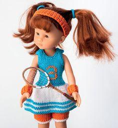 Modèle poupée à Roland Garros