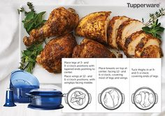 HI-HO HI-HO WITH TUPPERWARE WE GO: How to Cook a Chicken in Your Stack Cooker by hihohihowithtupperwarewego.blogspot.com and at www.my.tupperware.com/lindacwilson
