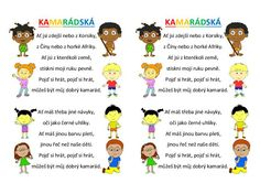 Písničky k pohybu a k tanci Nasa, Montessori, Indiana, Kindergarten, Crafts For Kids, Preschool, Language, Classroom, Activities