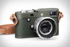 Leicas are prestigious on their own. But if you want to stand out (or blend in, depending on the location) even more, the Leica M-P 240 Safari Edition Camera is a good option. This limited production set includes an olive...