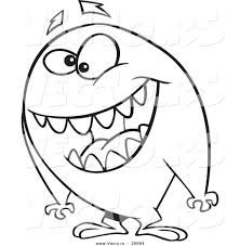 Funny monster coloring pages | Fun kid printables ...