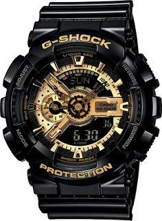 "G-Shock (GA110GB-1A). ""If you don't know, now you know..."""
