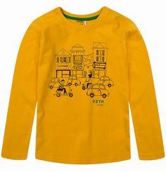 """T-shirt dla chłopca. Kolekcja: """"Dookoła świata"""""""