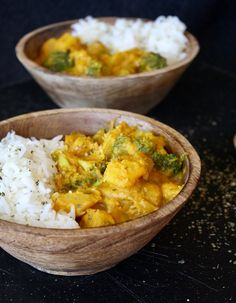 Vegan Pumpkin Coconut Curry | Create N Plate