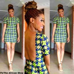 """50 Fabulous Modern Ways to Wear African Fabric   Black Girl with ..."""""""