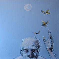 "Saatchi Online Artist michele petrelli; Painting, ""Lightness"" #art"