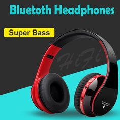 Big sale US $13.42  Blutooth Big Casque Audio Cordless Wireless Headphone Headset Auriculares Bluetooth Earphone For Computer Head Phone PC With Mic  Get discount for product: Tablet PC