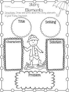 *Freebie* Story Elements Organizers (Setting, Characters