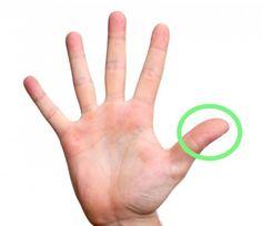 Masseer 1 minuut één van je vingers en je zal jezelf verbazen wat de resultaten zijn! Dit is goed om te weten!