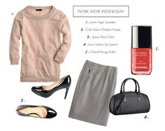 Styled Notes: Work Wear Wednesday